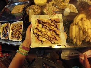 Banana Mango Pancake